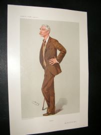 Vanity Fair Print 1906 Major-General Sir R.B. Lane
